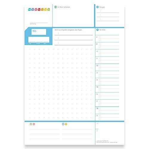weekview DayPad 2.0   Der A5 NotizBlock für das Wichtigste des Tages