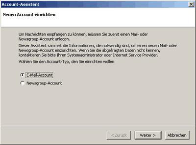 Mozilla-Mail einrichten 1