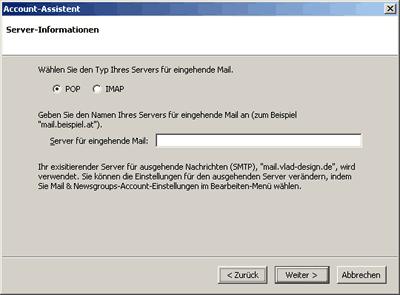 Mozilla-Mail einrichten 3