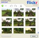 Flickr-Uploadr im Einsatz