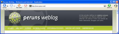 """Der """"Wirkungsbereich"""" der header.php"""