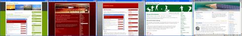 Freie Themes auf WordPress-Themes.Perun.net