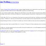 E-Mail im abgespeckten HTML-Format