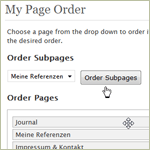 My Pages Order