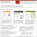 Kostenlose Webvorlagen für Microsoft