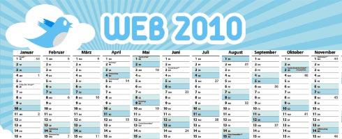 Twitter-Kalender 2010