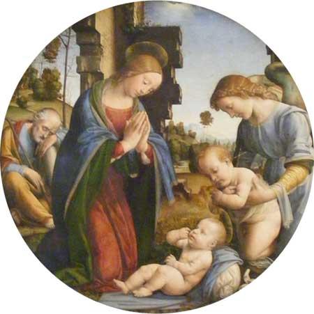 Geburt von Jesus (Lorenzo di Credi)