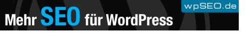 WordPress SEO mit wpSEO