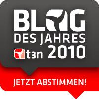 Blog des Jahres 2010: jetzt abstimmen