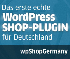 Deutschsprachiges Shop-Plugin für WordPress