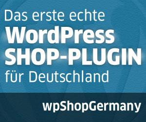 Deutschsprachiges Shop-Plugin für WordPress
