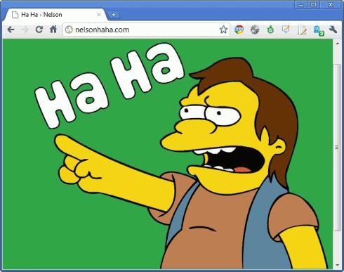 Simpsons: Nelsons Ha ha