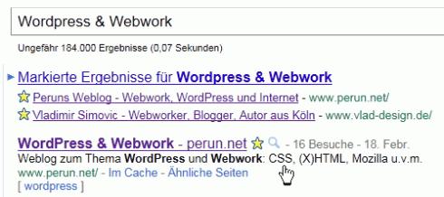 Meta-Description im Suchergebnis