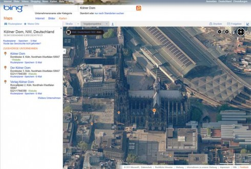 Bing Maps: Alternative zu Google Maps