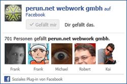 Abbildung einer Facebook-Like-Box