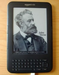 Amazon Kindle Keyboard im Einsatz