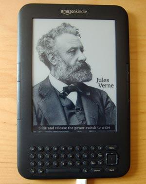 Amazon Kindle im Einsatz