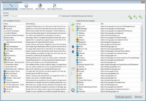 Mozilla Firefox: Google Shortcuts einrichten