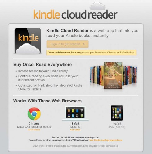 Kindle in der Cloud