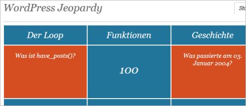 WordPress-Jeopardy