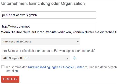 Google+-Seite erstellen (3)