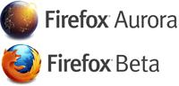 Mozilla Firefox: Aurora oder Beta