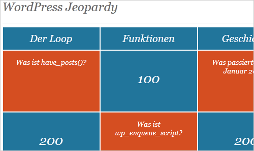WordPress-Jeopardy