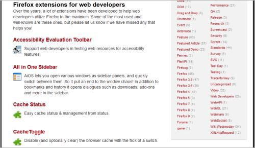64 Webworker-Tools für Firefox und Firebug