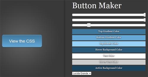 CSS3: Button Maker