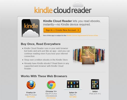 Amazon: Kindle Clou Reader