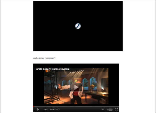 WordPress: YouTube-Videos sparsam einbinden