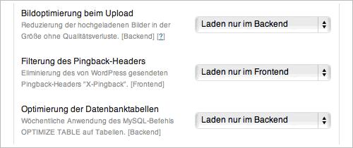 Module für die Toolbox (Bild http://playground.ebiene.de/toolbox-wordpress-plugin/)