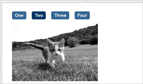 Bilder-Galerie mit CSS3 und :target