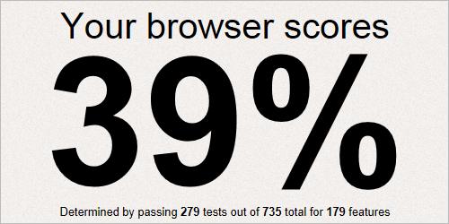 IE9 im CSS3-Test
