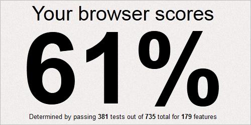 Mozilla Firefox 10 im CSS3-Test