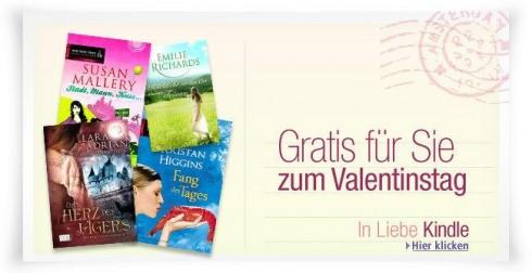 Gratis E-Books zum Valentinstag