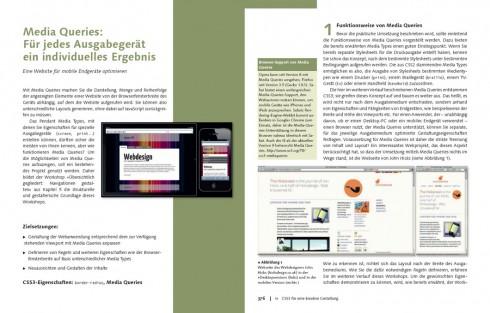 Entwicklung von Design für verschiedene Endgeräte auf Basis von CSS3 MediaQueries