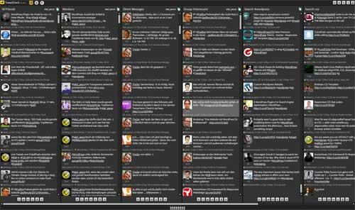 Altes TweetDeck im Einsatz