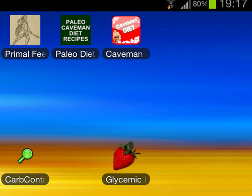 Apps von Google Play auf dem Galaxy Note