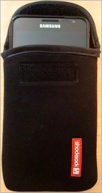 Gut geschützt: das Samsung Galaxy Note N700