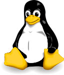 Linux Tux: By Larry Ewing, Simon Budig, Anja Gerwinski ([1]) [Attribution], via Wikimedia Commons
