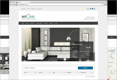 wpCasa: Framework für WordPress-Themes