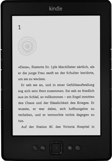 Das neue Kindle von Amazon (September 2012)