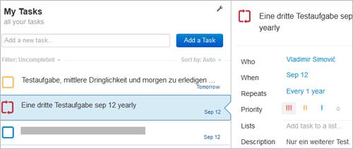 Astrid.com mit Schlüsselwörtern/Keywords im Mail-Betreff steuern