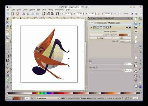 Inkscape im Einsatz