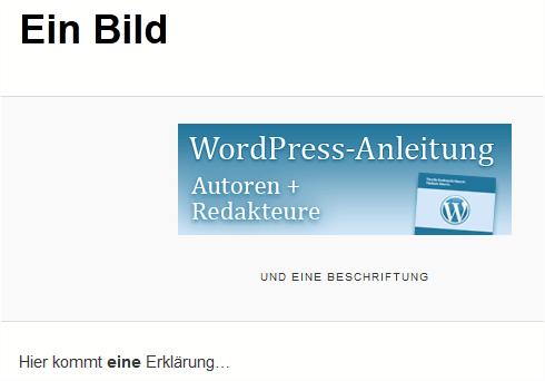 WordPress 3.5: Bildanhang-Seite