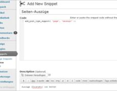WordPress: Funktionen aus dem Admin-Bereich verwalten