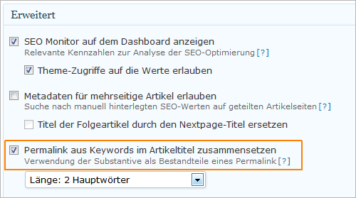 WordPress: Umlaute in Permalinks mit wpSEO konvertieren
