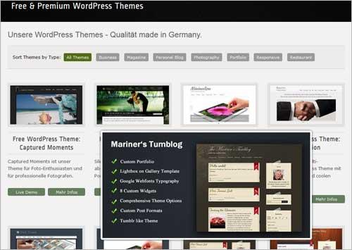 14 kostenlose WordPress-Themes