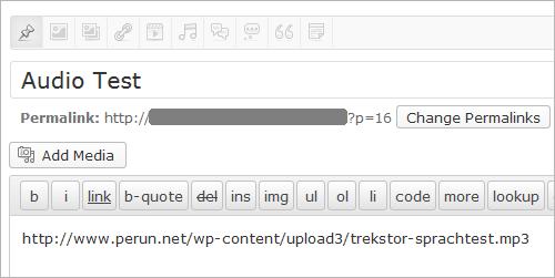 WordPress 3.6: erweiterter oEmbed